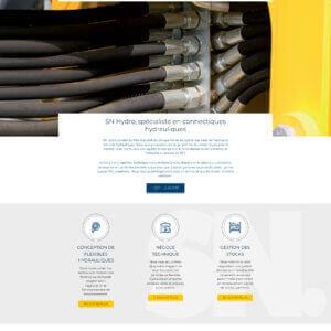Nouveau site internet SN Hydro