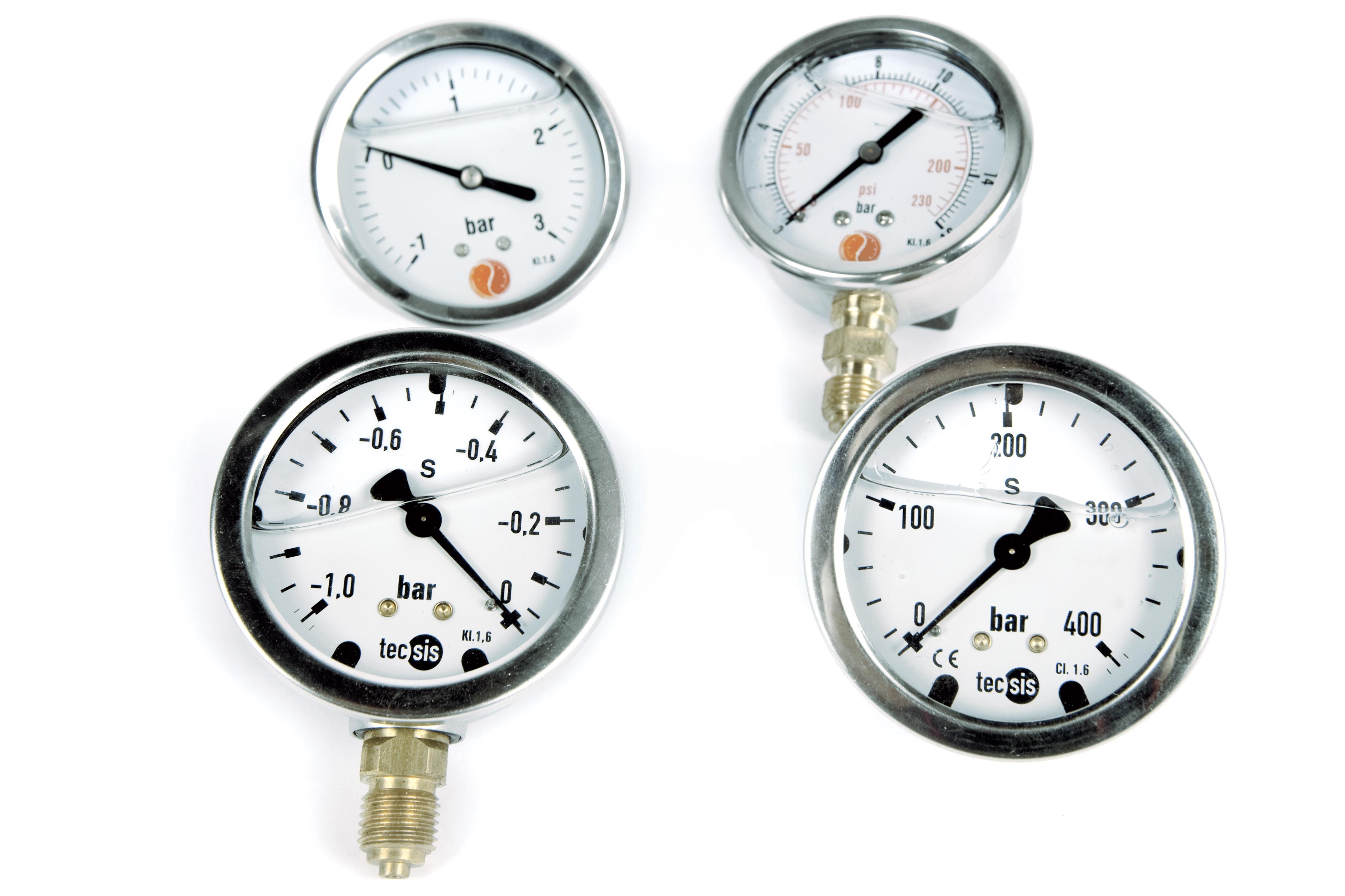 Instruments de mesure - manomètres